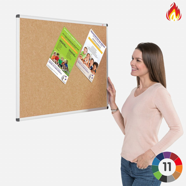 Eco-Colour Aluminium Framed Resist-a-Flame Boards