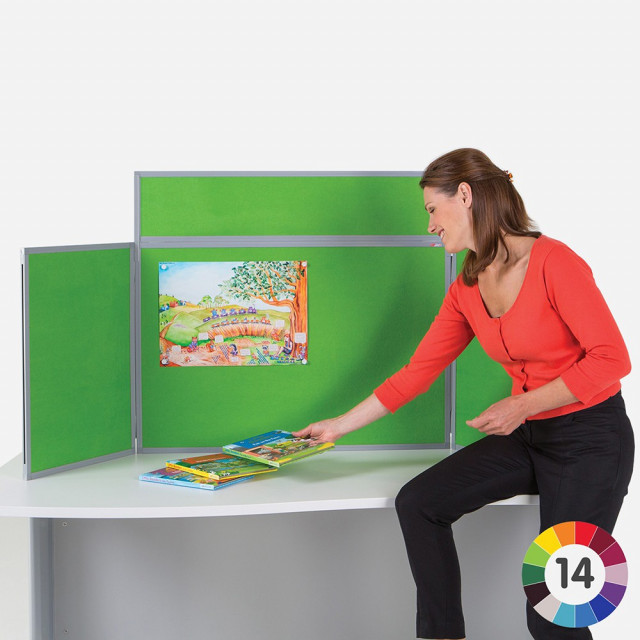BusyFold Light Tabletop Display - Landscape
