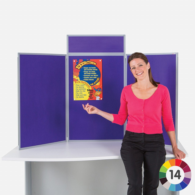 BusyFold Light Tabletop Display - Portrait