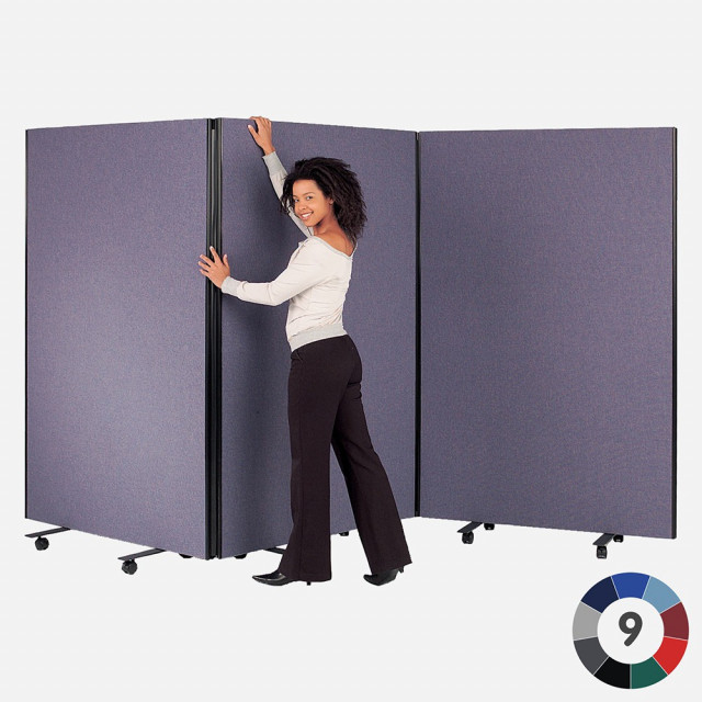 BusyScreen Triple Safety Partition - Woven Cloth
