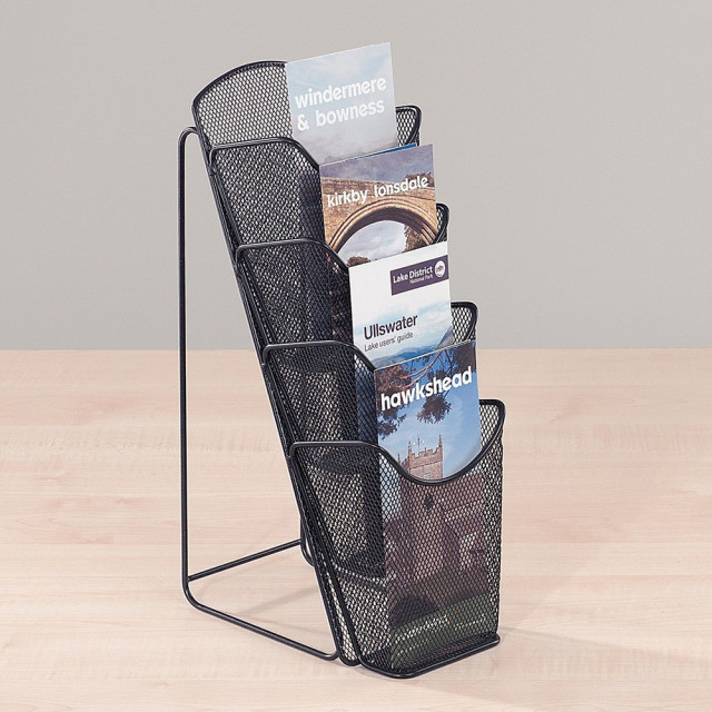 Mesh Desktop Leaflet Dispenser