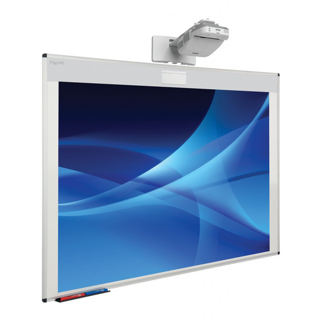 "Oversize 87"" Projection Whiteboard"