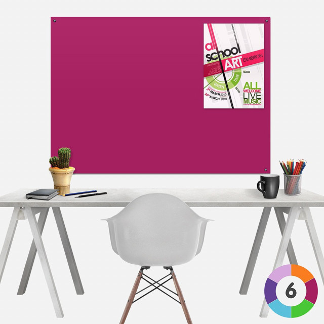 Frameless ColourPlus  Noticeboards