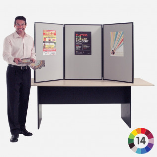 BusyFold Light XL Tabletop Display