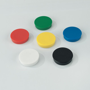 Coloured Magnets