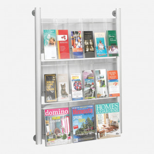 Crest Wall Mounted Leaflet Dispenser