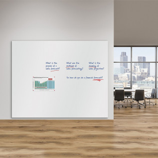 WriteOn Frameless Magnetic Whiteboard