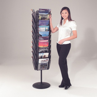 Mesh Freestanding Leaflet Dispenser