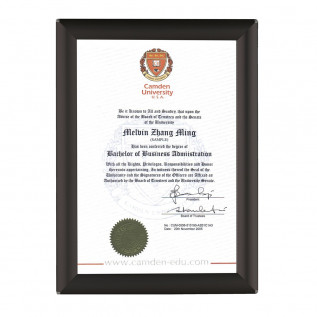 BusyGrip certificate frame