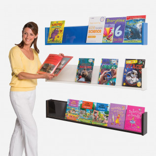 Coloured Shelf Style Wall Mounted Dispenser