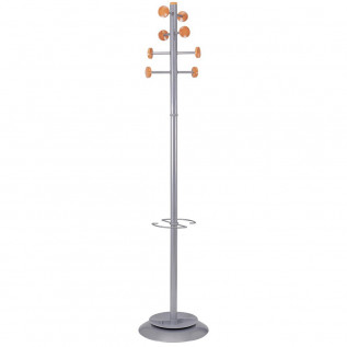 Silver Coat Stand