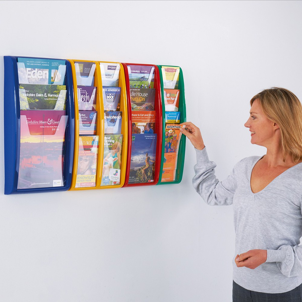 Panorama Wall Mounted Leaflet Dispensers
