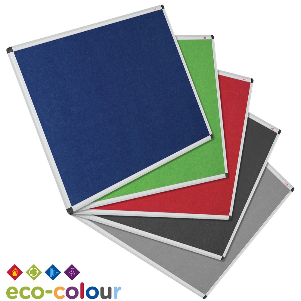Eco-Colour Resist-a-Flame Noticeboards