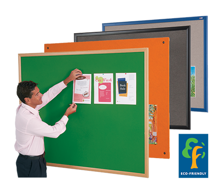Eco-Friendly Noticeboards & Whiteboards