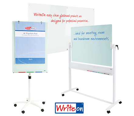 NEW WriteOn® Mobile Glass Whiteboards